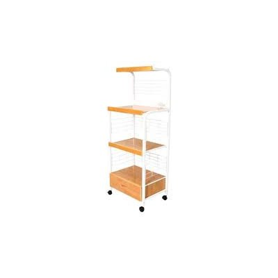 ORE International G571WH Microwave Cart