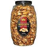 Utz Sourdough Nuggets Pretzels Barrel, 52 Ounce (Pack of 2)