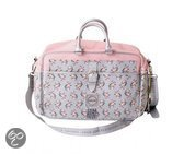 STGD Stapelgoed girls flower diaper bag pink Wickeltasche