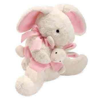 North American Bear Company Mammas and Babies 12″ Plush Toy, Bunny, Baby & Kids Zone