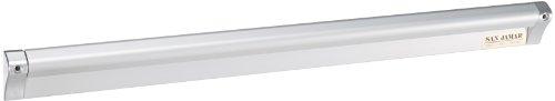 San Jamar CK6524A Anodized Aluminum Slide Check Rack, 24