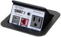 Power Video Plug - Altinex Tilt N Plug Jr. Hybrid Analog and Digital Video - TNP-128 - Power Data Center