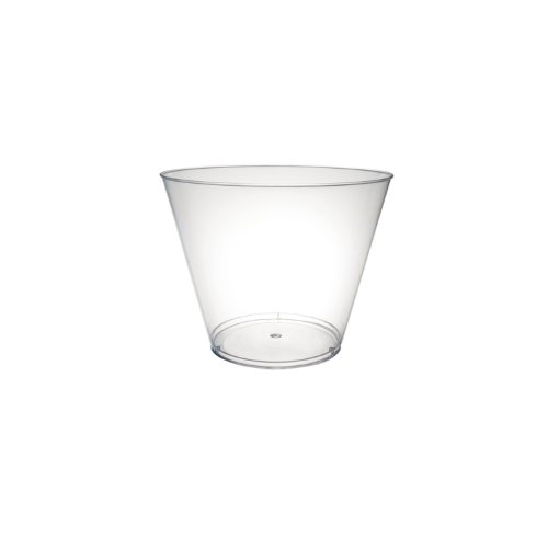 Party Essentials N540 Hard Plastic Tumbler, 5-Ounce Capacity,