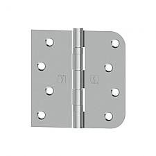 Hager BB1816-4 4 x 4 Mortise Right Hand Ball Bearing Hinges with Square Corners and 5//8 Radius Corners Pair
