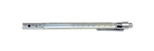 Thermco BM2012ABLS Glass Accu-Safe Open Face Blue Spirit Filled Pocket Thermometer, -30 to 120°F Range, 2°F Division, TOTAL Immersion by THERMCO (Image #1)