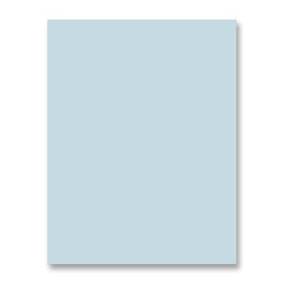 Sparco Premium-Grade Pastel Color Copy Paper - Letter - 8.5 x 11 - 20lb - Recycled - 500 / Ream - Blue by -