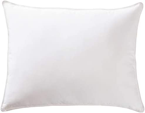 Amazon Basics Down-Alternative Pillow with Cotton Shell – Soft Density, Queen