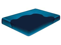 Eastern King Free Flow Soft Side (Foam Rail) Waterbed Mattress 8'' Depth by Boyd's