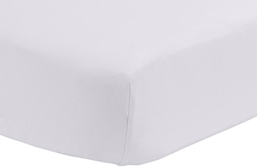 Cotton Percale Sheet Crib - Pinzon 300 Thread Count Percale Fitted Crib Sheet, White
