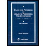 Cases and Problems in Criminal Procedure: The Police (2006 4th Ed. SUPPLEMENT)