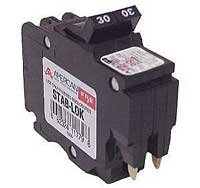 1- FEDERAL PACIFIC FPE NC220 20 AMP, 2 POLE, THIN CIRCUIT BREAKER STAB-LOK SPACE 20A 2P by FEDERAL PACIFIC (Image #1)