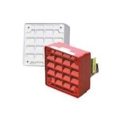 Cooper Wheelock ET-1010-R 103135 Speaker Vandal Resistant Fire Alarm, Red by Wheelock