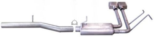 Gibson 5660 Super Truck Aluminized Cat-Back Exhaust System