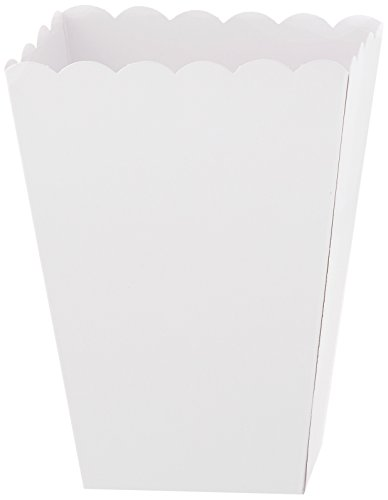 Popcorn Boxes, Small | White | Party Accessory for $<!--$4.32-->