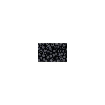 I-Beads cc49F–Perle di Rocaille Toho 8/0opaco Frosted Jet (10g)