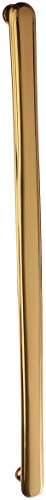 - Baldwin Estate 4370.030 Severin Fayerman Smooth Solid Brass Appliance Pull in Polished Brass, 18