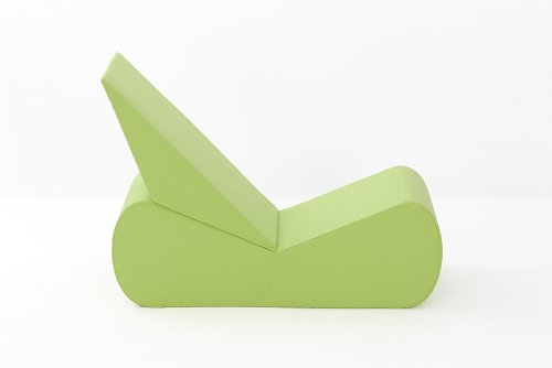 Nevada Gaming Chair in Lime Cotton Drill Comfy Living