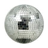 Hanging Disco Ball (Eliminator Lighting Mirror Balls 8 inch mirror ball Mirror)