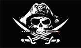 Deadman's Chest Tricorner Pirate 3'x5' Polyester Flag