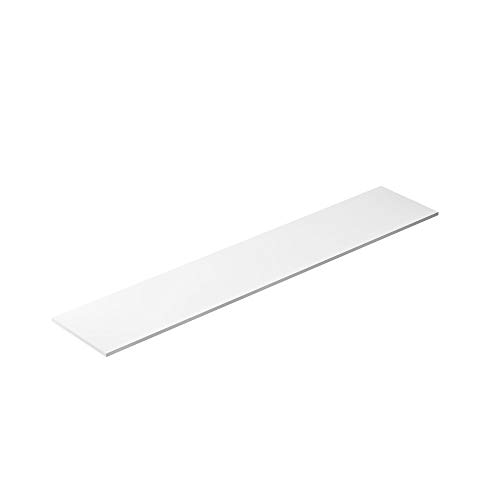 Restaurant Refrigeration Prep Cutting Board Replacement, Poly White Plastic HDPE Plastic, 60 x 11-3/4 x 1/2 ()