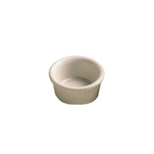 Hall China 4531-WH White 2 Oz. Fluted Ramekin - 36 / CS