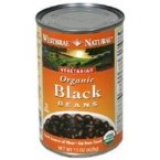 Westbrae Foods Organic Black Beans Fat Free (12x15 OZ)