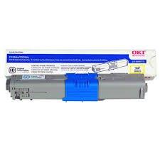 Genuine OEM brand name Okidata Yellow Toner Type C17 C330/C530/MC361/MC561 (3K) 44469701