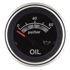 Sierra International 67022P Sterling Scratch Resistant Electric Oil Pressure Gauge, 2\