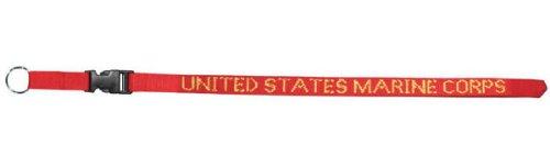 Usmc Marine Corps Lanyard   Neck Strap Key Ring