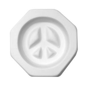Peace Glass - Peace Sign Jewelry Mold