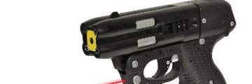 JPX Pepper Spray Gun with LED Laser, Bundle with a Holster by JPX (Image #5)