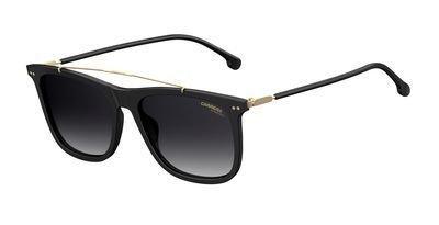 Carrera CA150/S 807 Black CA150/S Oval Sunglasses Lens Category 3 Size - Vintage Sunglasses Carrera