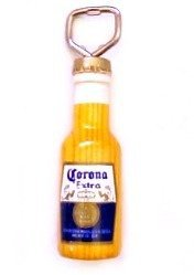 Corona Extra Image Wood Metal Bottle Opener From Mexico New