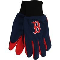 MLB Boston Red Sox 2015 Colored Palm Utility Gloves, Red