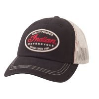 (Indian Motorcycle Quality Trucker Hat by Indian Motorcycle)