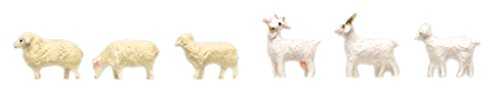 토미 텍 지오 코레 정경 콜렉션 더・동물105 양・염소 디오라마 용품