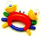 Discovery Toys Crab Pal Ratle by 5Star-TD (Rattle Pal)