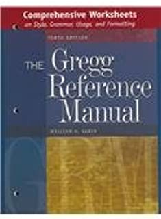 basic worksheets on style grammar and usage to accompany the gregg rh amazon com The Gregg Reference Manual PDF Gregg Reference Book