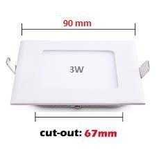 Riflection Energy Saver Lowprice Durable LED Slim Panel 3 wa
