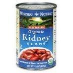Westbrae Foods Organic Kidney Beans, 25 Ounce -- 12 per case. by Westbrae
