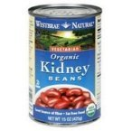Westbrae Foods Organic Kidney Beans, 25 Ounce -- 12 per case. by Westbrae by Westbrae Natural