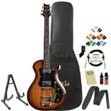 PRS S2 Starla McCarty Tobacco Sunburst Electric Guitar with PRS Gig Bag, ChromaCast Stand, Tuner, Picks, Cable, Strap and Polish Cloth, PRS Guitar Polish and Cleaner