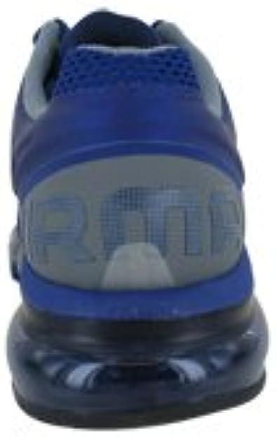 NIKE Women's Air Max+2013 555363 400 Blue Silver Cool Grey Running Sneaker