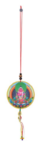Tibetan-Buddhist-Amitayus-Car-Hanging-Rear-View-Mirror-Decoration-Wall-Hanging-Car-Accessory