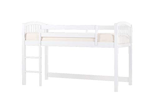 (Hillsdale Furniture 7060N Hillsdale Kids and Teen Schoolhouse Junior Twin Loft Bed White)