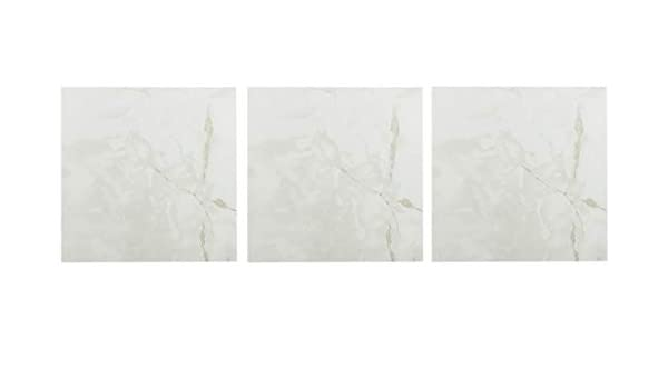 Solid White, Achim Home Furnishings 12-Inch Vinyl Tile 20-Pack