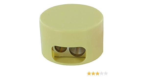 KUM AZ364.01.19-GE Double Container Sharpener 208M2 Magnesium Pastel Yellow