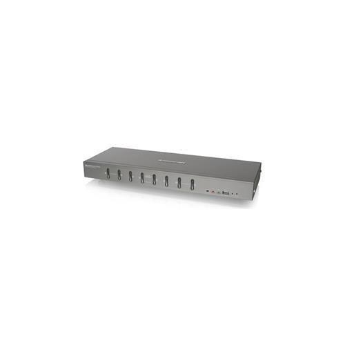 IOGEAR GCS1108 8Ports USB DVI KVMP Switch with VGA support Retail (Iogear GCS1108)