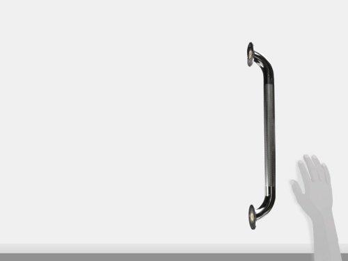 dmi textured steel grab bar for bath and shower safety 18 inch  description