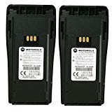 MOTOROLA Orignal OEM NNTN4497CR Double Pack 7.2 Volts LI-ION 1.8Ah High Capacity Battery